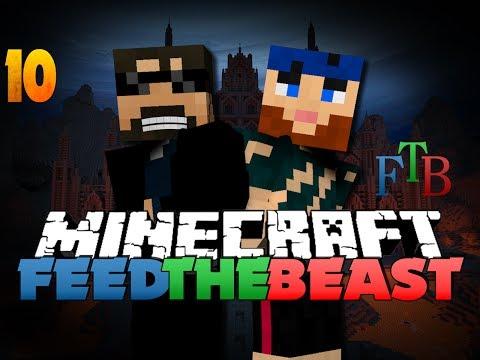 Minecraft Modded Survival - FTB 10 - IT HAS BEGUN