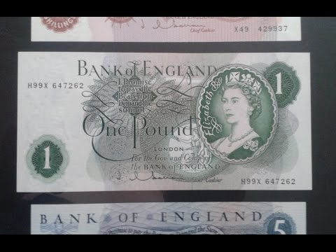 UK Banknote History - A Quick Tour