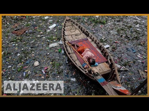 Bangladesh's garment factories pollute rivers, affecting residents' health