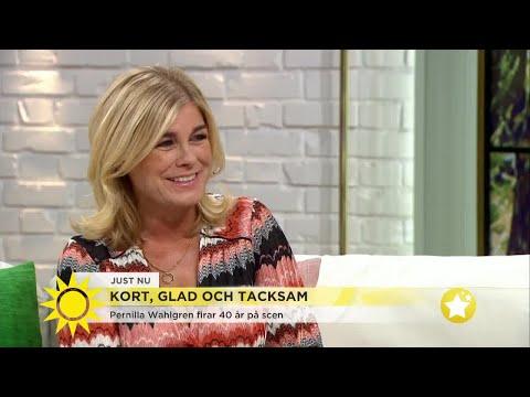 """""""Jag är lite kåt också"""" – Pernilla Wahlgrens brutalt ärliga svar till Tilde de Paula - Nyh"""