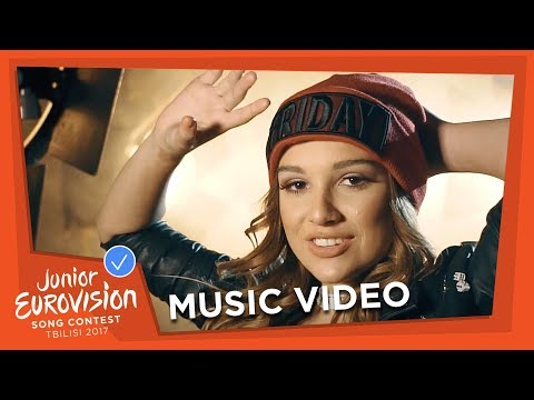 MINA BLAZEV - DANCING THROUGH LIFE - F.Y.R. MACEDONIA 🇲🇰 - OFFICIAL MUSIC VIDEO - JESC 2017
