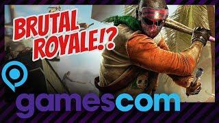 Zombies + Battle Royale = Brutal Royale! 🧟 Bad Blood | Unser Geheimtipp von der GC2018!