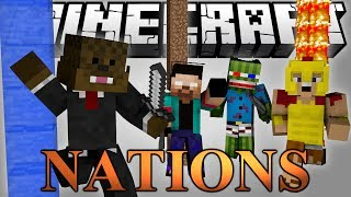 GENERAL JEROME Warring Nations MInigame w/ Bashur, NoahCraftFTW, and Palmer