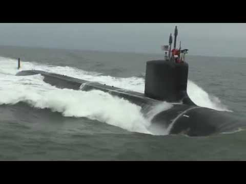 Virginia-class submarine John Warner (SSN 785) completed alpha sea trials HII US Navy
