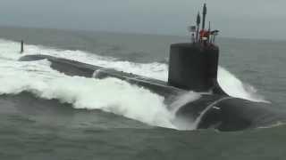Virginia-class submarine John Warner (SSN 785) completed alpha sea trials HII US Navy