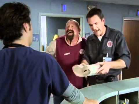 Клиника Уборщик / Scrubs Janitor (сцена 3 сезон 4 серия ...