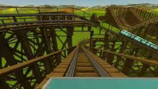 World Record Roller Coasters in Roller Coaster Tycoon 3 part 1