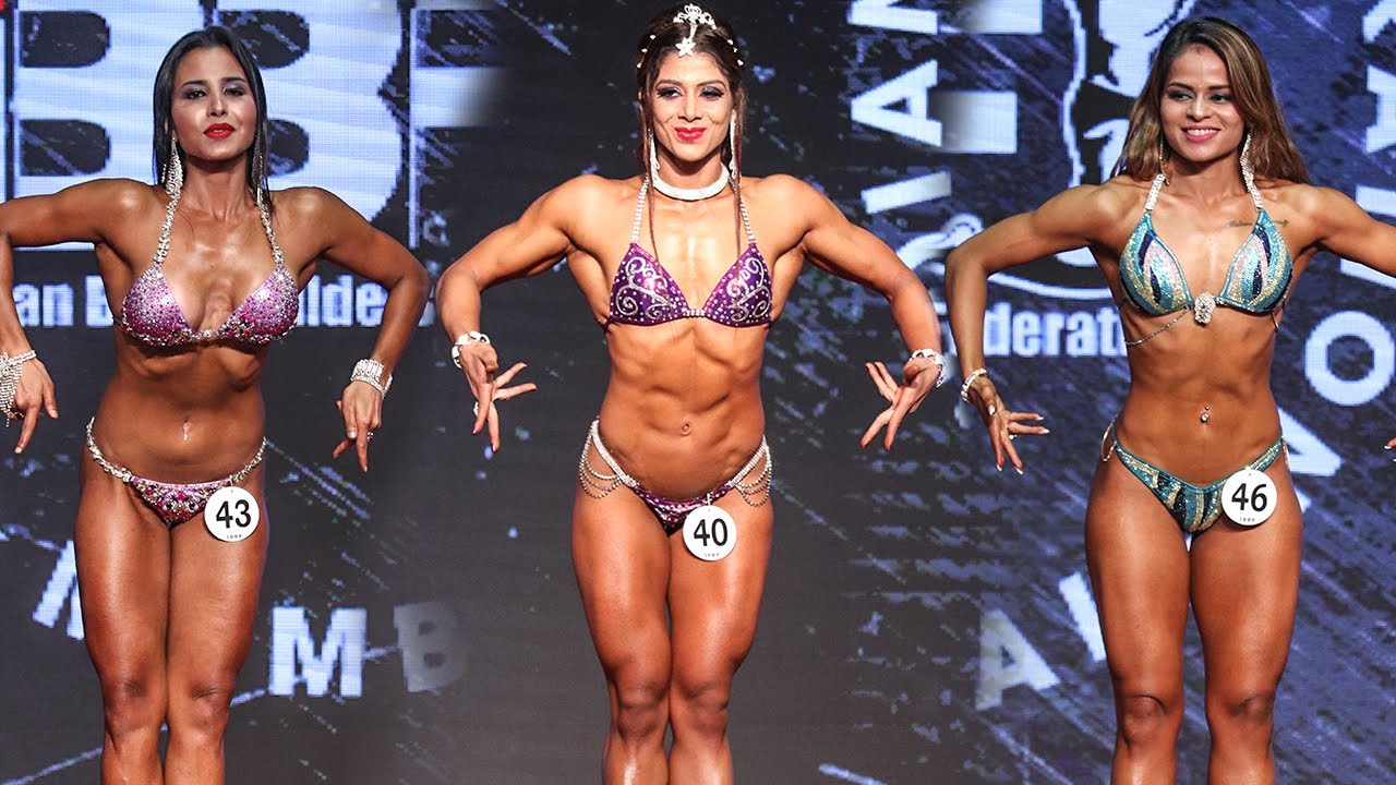 Ibbf Womens Physique Winner India 2019 Sanjana Dalak Youtube