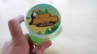 Green ZOOTOPIA CRYSTAL ANIMAL SLIME