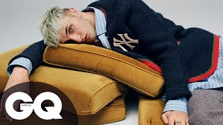 Anwar Hadid Wears Gucci, Gucci And More Gucci In GQ Style Shoot