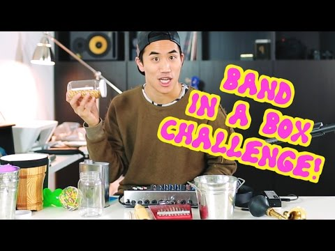 BAND IN A BOX CHALLENGE! | Andrew Huang