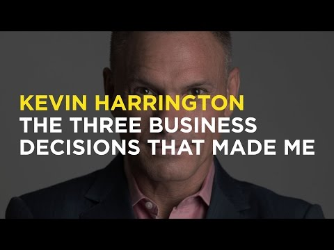 Kevin Harrington: the three business decisions that made me