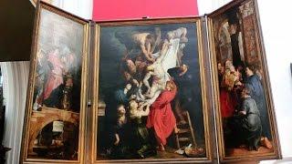 『 フランダースの犬』のネロが命尽きた教会と亡くなる前に見た絵