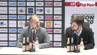 1878 TV | Pressekonferenz 23.02.2020 Augsburg - Mannheim 4:2