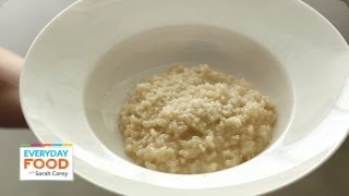 Easy Risotto - Everyday Food with Sarah Carey