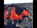 RAW : LAVA FLOWS FROM VOLCANO