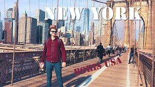 США: Нью-Йорк. Гуляем по Нью-Йорку! Достопримечательности Нью-Йорка за 2 дня! New York City, USA.(Нью-Йорк - первый город который приходит на ум, когда думаешь о США. Символ Свободы! Самый большой город в..., 2016-12-04T01:32:08.000Z)