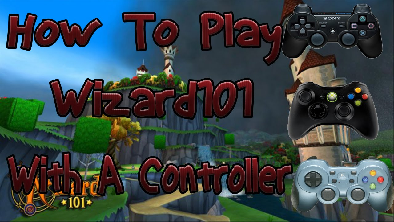 Wizard101 How To's | USE A CONTROLLER TO PLAY |