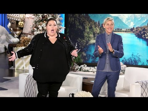 'This Is Us' Star Chrissy Metz Joins Ellen - YouTube