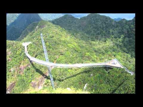 Небесный мост Лангкави. Малайзия
