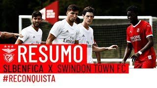 PRÉ-ÉPOCA 2018/2019: SL Benfica x  Swindon Town FC