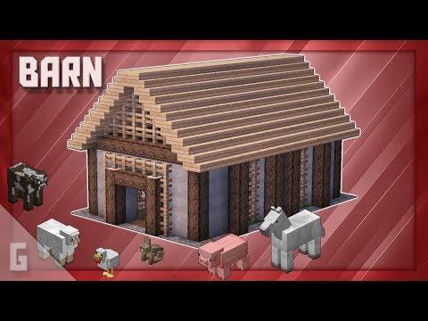 Minecraft: The Perfect BARN!