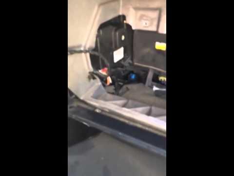 Cadillac dhs 2000 a/c heater door actuator - YouTube