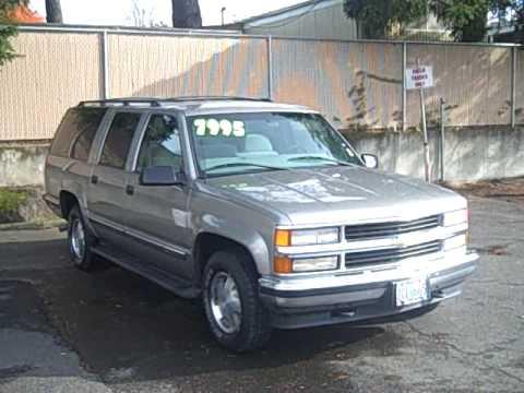 1999 chevrolet suburban ls 5 7l 350ci 4x4 8 passenger nice youtube 1999 Chevy Suburban Roof Rack 1999 chevrolet suburban