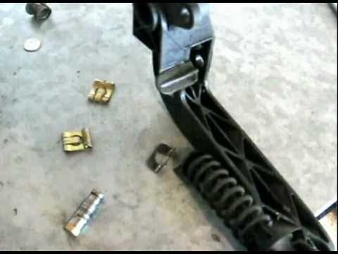 Clutch Slave Cylinder >> BMW Clutch Pedal Bushing loose repair replace by froggy ...
