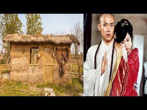 唐朝一和尚進入山洞, 遇見一位自稱秦朝的女子, 還一起住了40天