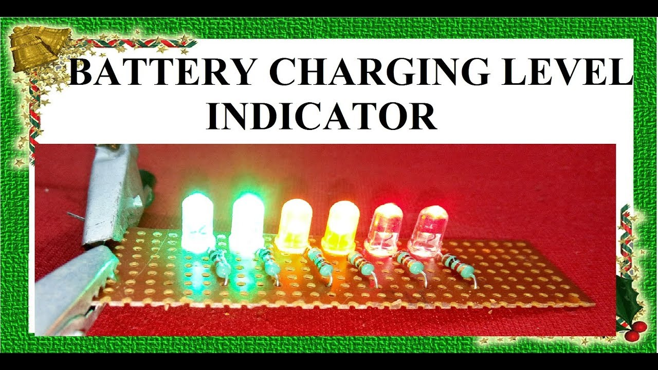 Simple Battery Charge Indicator Charging Level Charger Circuit Diagram By Innovative Ideas