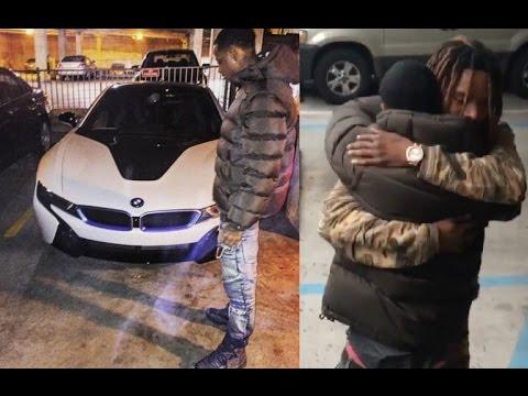 Fetty Wap Buys His RemyBoyz Brother Monty a BMW i8 for Christmas. Worth $140,000.