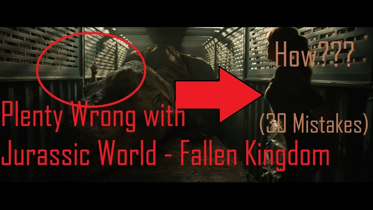[PWW] Plenty Wrong With Jurassic World - Fallen Kingdom | FULL MOVIE |  (Total : 30 Mistakes) | HINDI