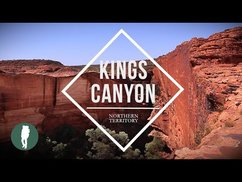Kings Canyon, Red Centre, Northern Territory, Australia