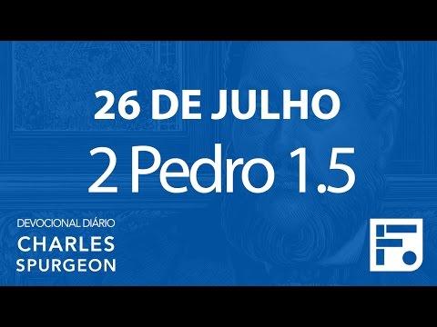 26 de julho – Devocional Diário CHARLES SPURGEON #208