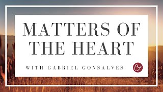 WHY YOU SHOULD NOT COACH YOURSELF - Matters of the Heart with Gabriel Gonsalves