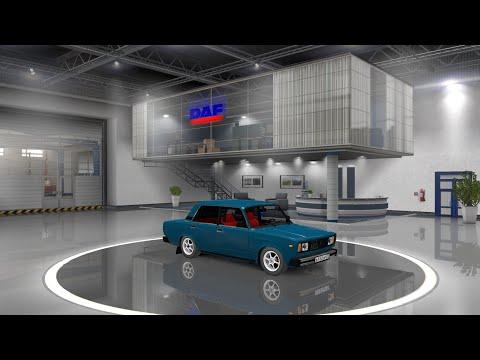 Euro Truck Simulator 2 Обзор мода (Vaz 2107)