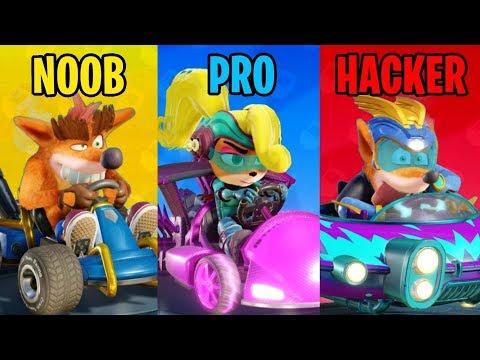 Crash Team Racing Nitro Fueled - Online Multiplayer Gameplay