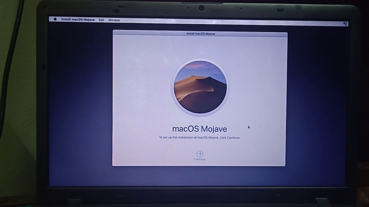 mojave da windows