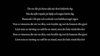 Livet Som En Värsting - Rastegar ft. Nordman w/Lyrics