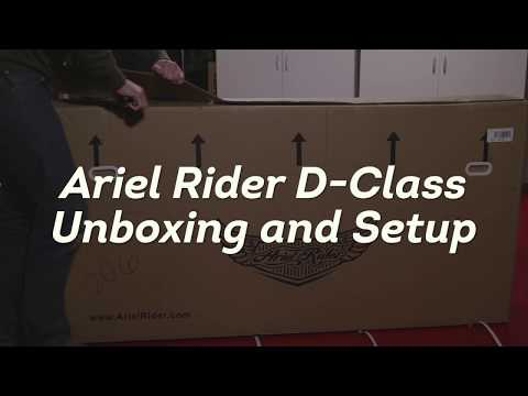 Ariel Rider D-Class Ebike - Unboxing and Assembly Instructions