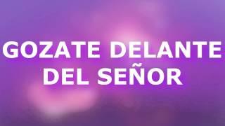 GOZATE DELANTE DEL SEÑOR,HARE UN ALTAR PARA TI GRUPO INSPIR...