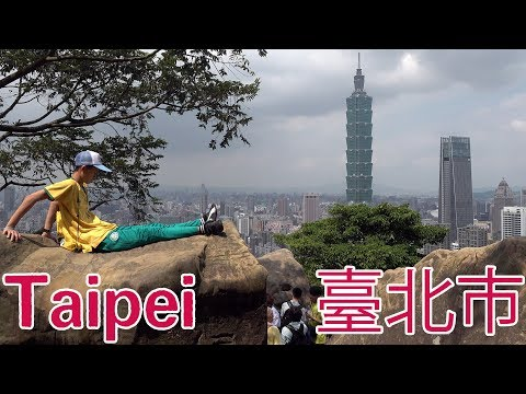 Taipei 4k. The Capital of Taiwan in 2019