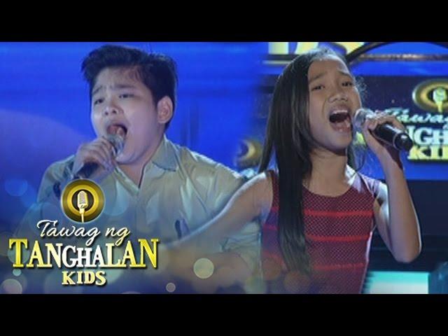 Tawag ng Tanghalan Kids: Loujille Soriano vs. John Carlo Tan