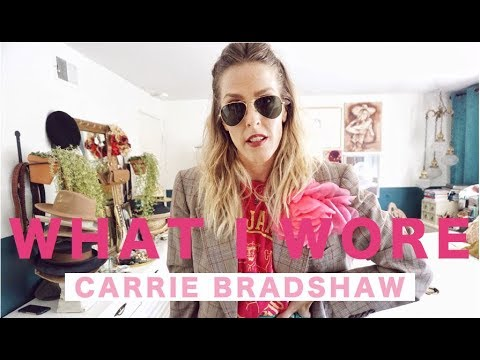 CARRIE BRADSHAW INSPIRED WHAT I WORE// OCTOBER