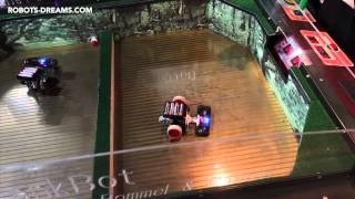 ROBOT WORLD 2014: RoboLink TankBot Battle Game
