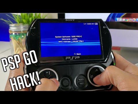 How To MOD PSP GO - EASY Tutorial 2020 - Custom Firmware To Run Homebrew - CFW 6.60 PRO C