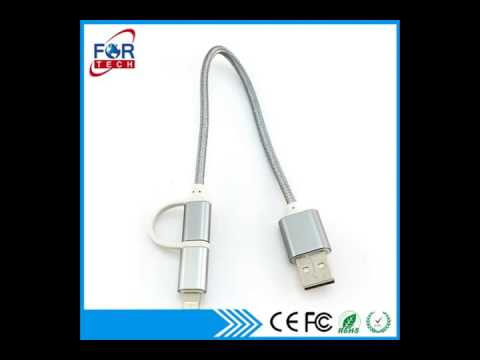 China 2 in 1 Micro Usb Cable, China Micro Usb Cable Manufacturers and Suppliers