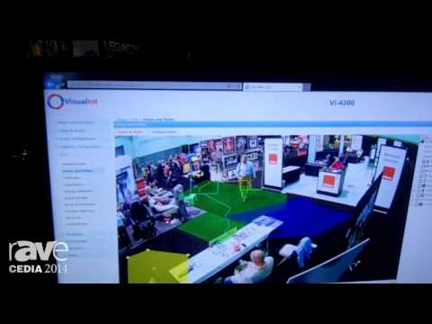 CEDIA 2014: Visualint Demos Visual Intelligent Cameras with Video Analytics for Residential Security