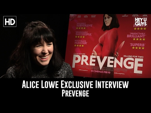 Alice Lowe Exclusive Interview - Prevenge